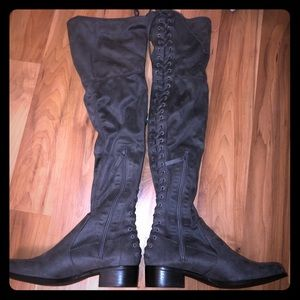 CHARLES by Charles David Gannon over the knee boot